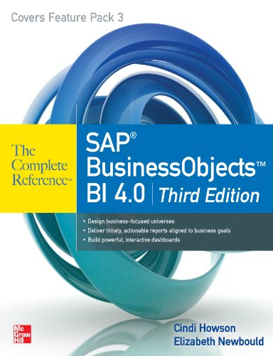 SAP BusinessObjects BI 4.0 The Complete Reference 3/E PDF