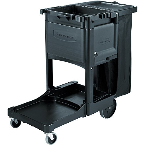 Rubbermaid Commercial 1861443 Locking Cabinet Door for Cleaning Cart