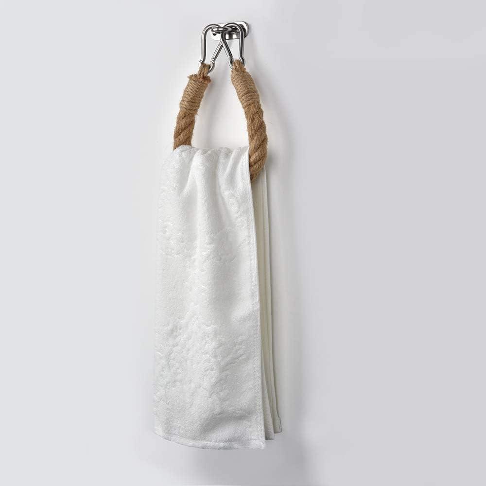 Porta carta igienica autoadesiva in legno da parete vintage rustico porta asciugamani per bagno 14,7 pollici