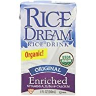 Rice Dream Organic Rice Drink, Original, 8 Ounce (Pack of 24)