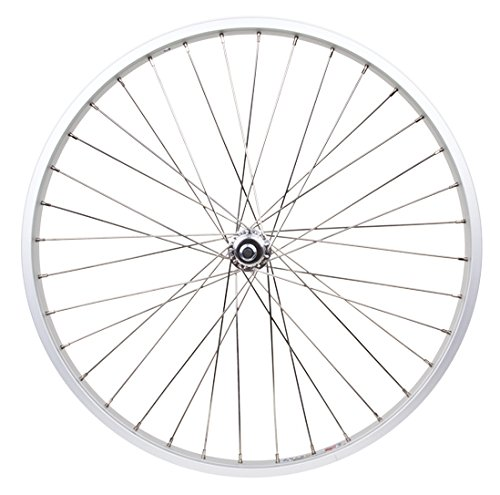 Single Speed Rims (Rear Freewheel Silver HEAVY DUTY 12 Gauge 26 Inch x 2.125 Inch Rim)
