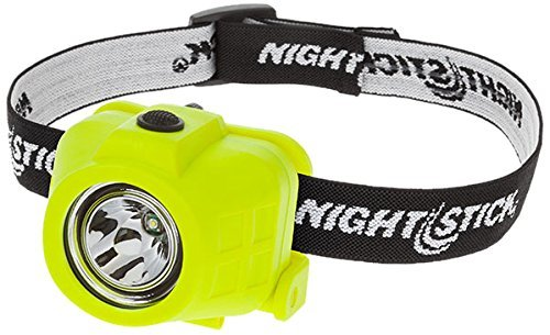 Nightstick XPP-5452G Intrinsically Safe Permissible Dual-Function Headlamp, Green (10 Pack)