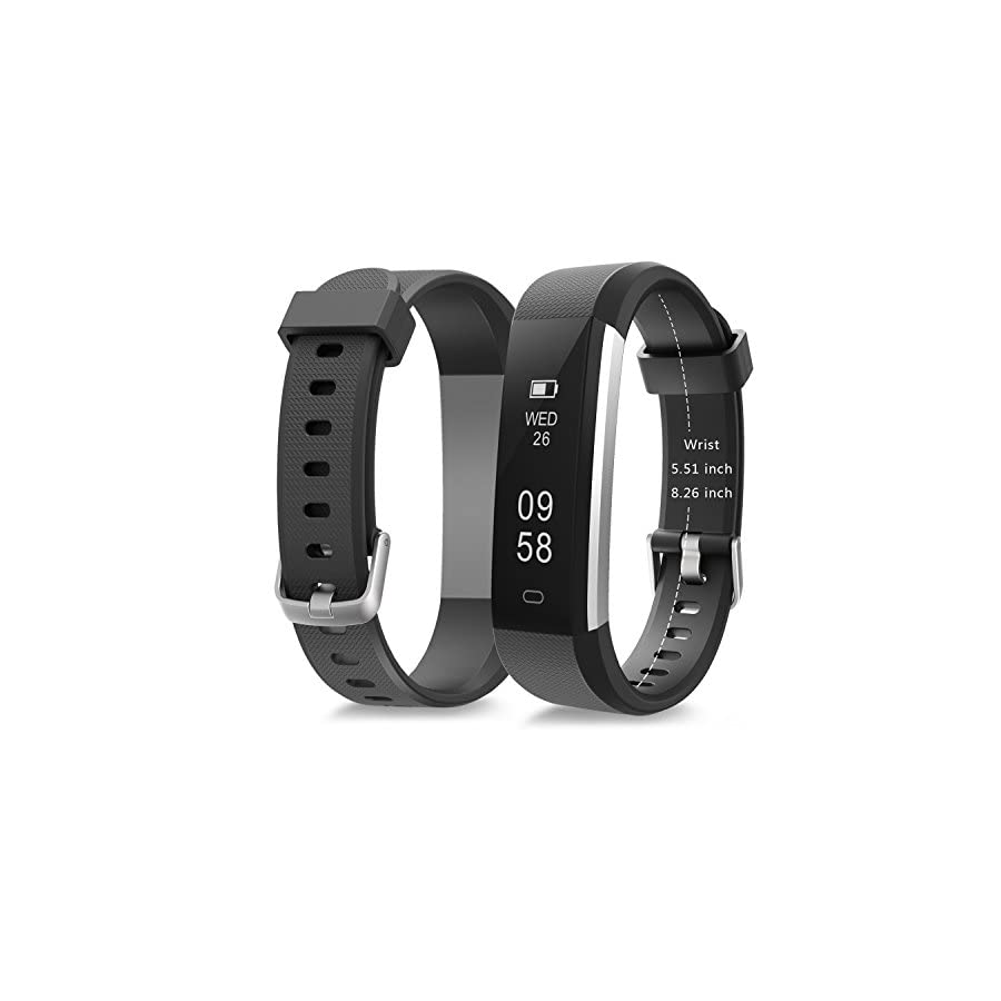 moreFit Fitness Tracker, Slim 2 Touch Screen Activity Health Tracker with Sleep Monitor, Wireless Pedometer Smart Wristband for Android iOS Phone
