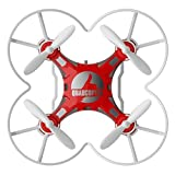 DSstyle Children's Toy Pocket Drone with Remote Control Transmitter Mini Quadcopter RC helicopter Red