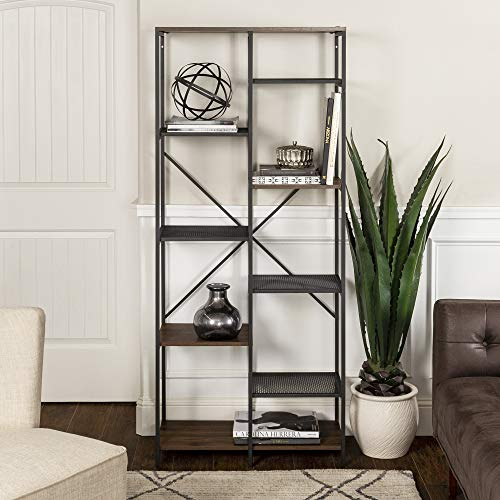 (WE Furniture AZS68STRDW Bookshelf, 68