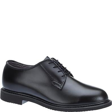 Amazon.com  Bates Lites Black Leather Oxford -  Shoes aa2d49527