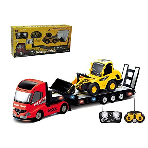 rc dump trucks with trailer - 8