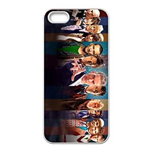 Doctor Who Iphone 5 5S Cell Phone Case White JN0K6423