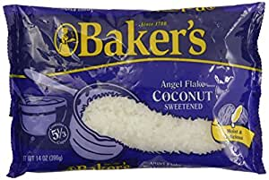Baker's Angel Flake Coconut Bag, 14 oz
