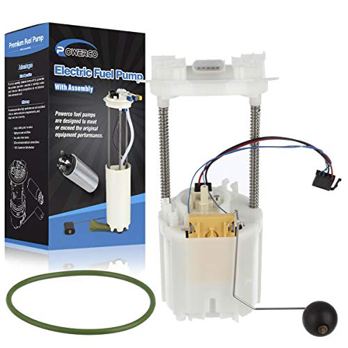 POWERCO Electric Fuel Pump Replacement E7192M Replacement for Chrysler 300 2005 2006 2007 2008 2009 2010 V6 2.7L (Driver Side For 19 Gallon Tank Only)