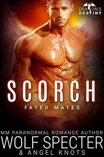 Scorch: M/M Gay Shifter Mpreg Romance (Dragon's Destiny: Fated Mates Book 2)