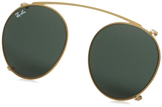 038e8a1554 Amazon.com  Ray-Ban Men s RX2180C Eyeglasses Gold Green 47mm  Clothing