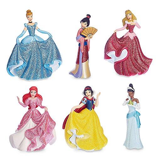 Disney Princess Figure Play Set (Mulan Blue Dress)