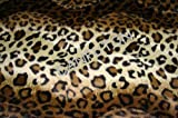 Brand New Full Size Leopard Skin Futon Mattress Covers