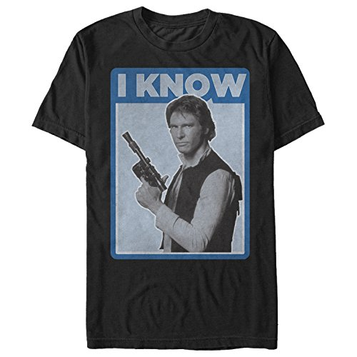 Dark Love Soft T-Shirt - Star Wars Men's Han Solo Quote