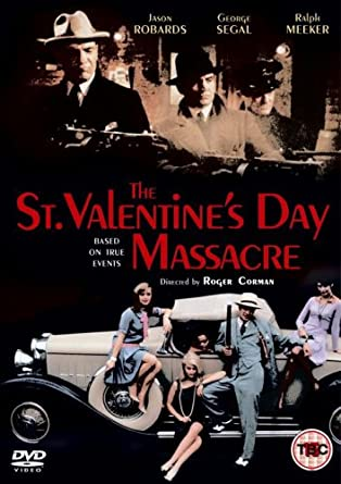 The St Valentine S Day Massacre Dvd Amazon Co Uk George Segal