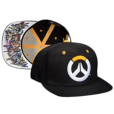 JINX Overwatch Heroes Snapback Baseball Hat, Multi colored, One Size from JINX