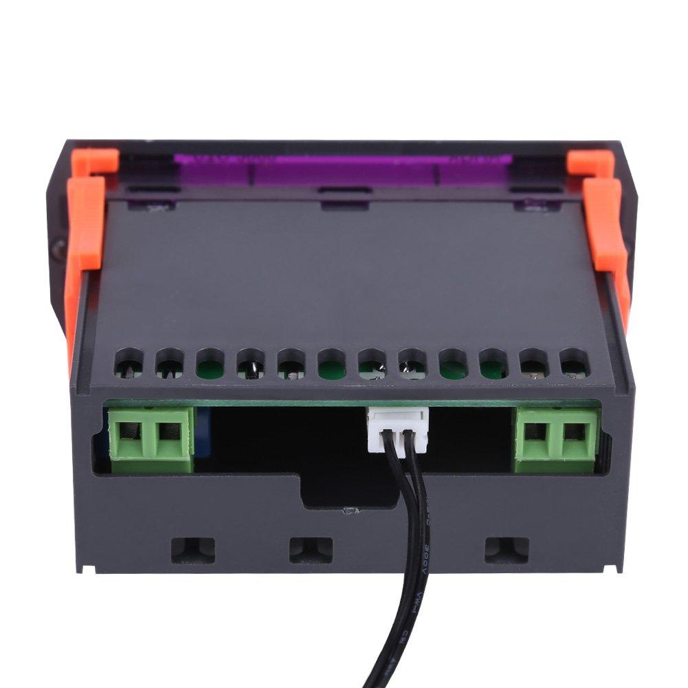 Nimoa STC-3000 110V-220V Touch Digital Thermostat mit Sensor Temperaturregler 220V10A