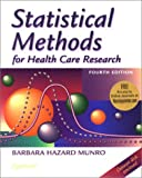 Statistical Methods for Health Care Research: With Online Articles with CDROM