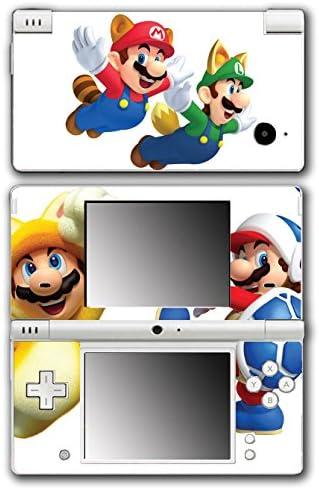 Super Mario Bros Boomerang Squirrel Acorn Cat Suit Video Game Vinyl Decal Skin Sticker Cover for Nintendo DSi System