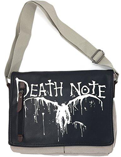 Yuesha aiyin Death Note Canvas Satchel Messenger Shoulder Crossbody Sling Bag