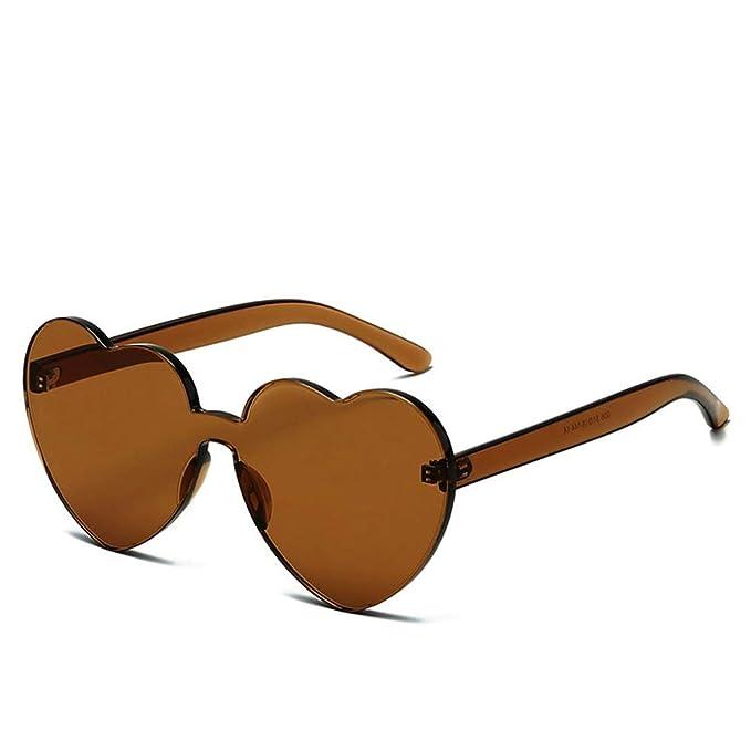 Amazon.com: OLINOWL - Gafas de sol de gran tamaño con forma ...