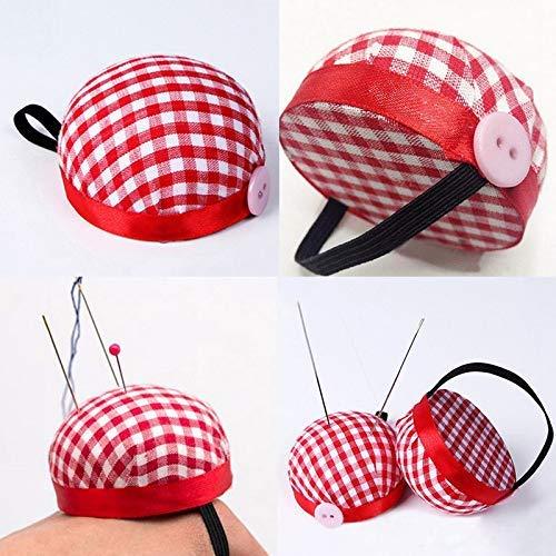 Kit de costura para agujas de muñeca de tela de cuadros ...