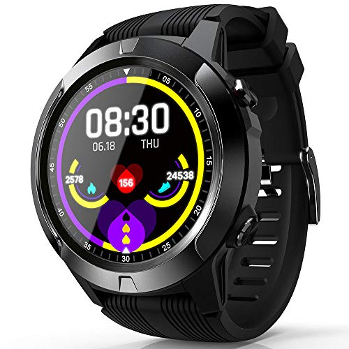 WQYRLJ Bluetooth Sport Mode Smartwatch Support SIM Card Call Heart Rate Pedometer GPS Smart Watch Men for Android And…