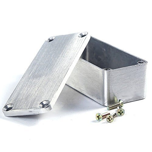 - ESUPPORT 1590A 92x38x31mm Aluminum Metal Stomp Box Case Enclosure Guitar Effect Pedal