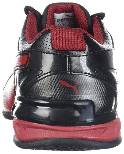 Puma Mens Tazon 6 Fm Cross-trainer Scarpa Puma Dahlia Nero-rosso
