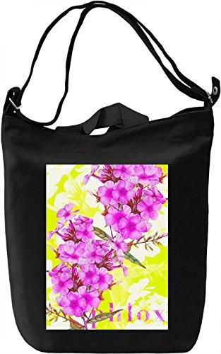 Phlox Borsa Giornaliera Canvas Canvas Day Bag| 100% Premium Cotton Canvas| DTG Printing|