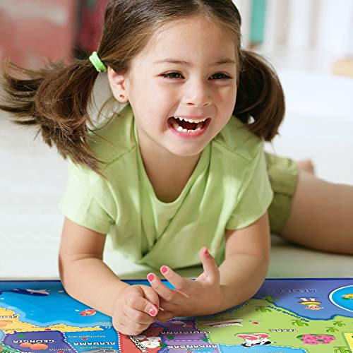 BEST LEARNING i-Poster My USA Interactive Map - Educational Talking Toy for Boys and Girls Ages 5 to 12 Years Old - Ideal Gift for Kids by BEST LEARNING (Image #2)