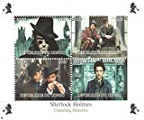 Sherlock Holmes stamps - Robert Downey Jr. in the Sherlock Holmes feature film