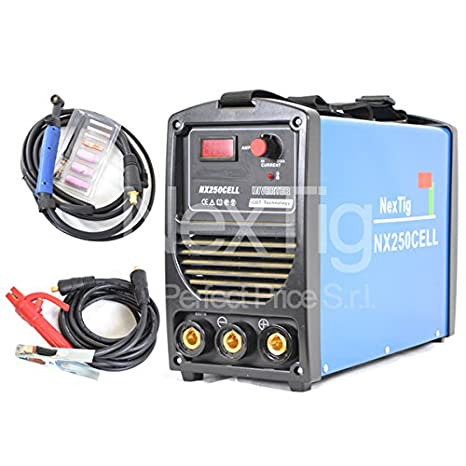 Soldador inverter NX 250 Cell MMA 250 Amp electrodo cellulosico 60% Ed: Amazon.es: Hogar