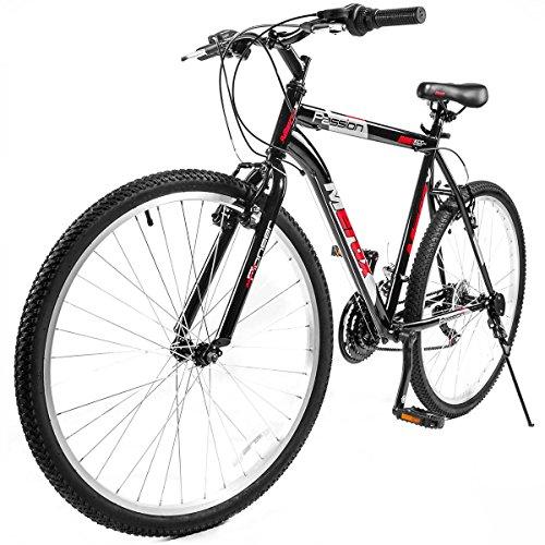 "UPC 843438105721, Merax 26"" Mountain Bike Aluminum Frame 18-Speed 26-inch Bicycle (Black&Red)"