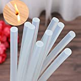Wffo 1X Hot Melt Glue Sticks for Craft Electric Heating Glue Stick 7X200mm (Clear)