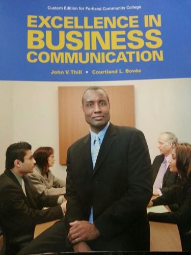 excellence in business communication Excellence in business communication mybcommlab for excellence in business communication is a total learning package mybcommlab is the online study tool that helps you transform business communication students into polished professionals.