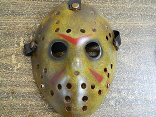 Dead Head Props DHP Dark Jason Friday The 13th Hockey Costume Mask Cosplay Halloween Mask Prop Party Mask
