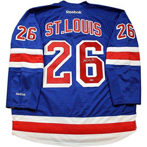 Martin St. Louis Signed Blue Premier New York Rangers - St Louis Outlets Premier