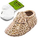 Moccasin (6-12 months, Leopard)