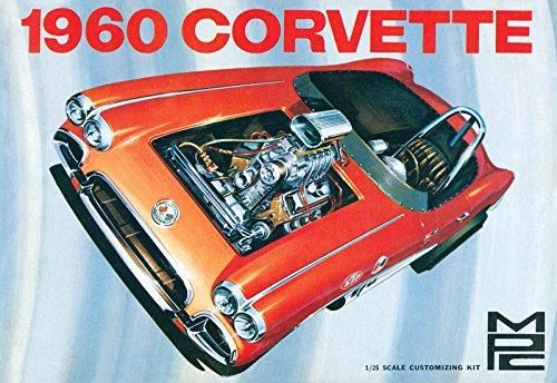 MPC 830 1960 Corvette 1/25 scale plastic model kit (Plastic Model Kit Vintage)