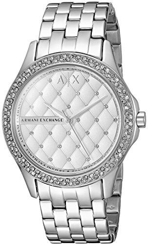 Armani Exchange Women's AX5215  Silver  - Armani Exchange Ladies