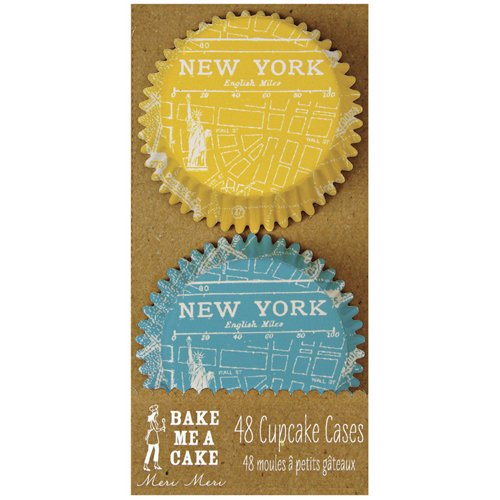 New York Themed Cupcake Baking Cups - Pack of 48