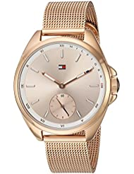 Tommy Hilfiger Womens SPORT Quartz Gold Casual Watch(Model: 1781756)