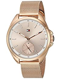Tommy Hilfiger Women's 'SPORT' Quartz Gold Casual Watch(Model: 1781756)