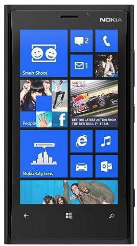 Nokia Lumia 920 32GB Unlocked GSM 4G LTE Windows 8 OS Smartphone - Black (Nokia Lumia 920 Straight Talk)