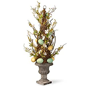 National Tree Company 27 in. Easter Egg Potted Tree 74