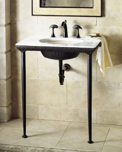 KOHLER K-6898-P5 Lotus Pool Iron Console - Marble Console Tabletop Shopping Results