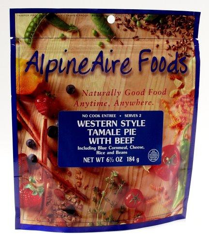 AlpineAire Foods 6-Ounce Western Style Tamale Pie