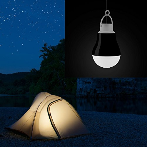 Tytan [2-Pack] Kobra USB LED Light Bulbs for Camping, Emergency, and Night Light - 5W, 40 Wire